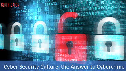Cyber Security Culture, the Answer to Cybercrime