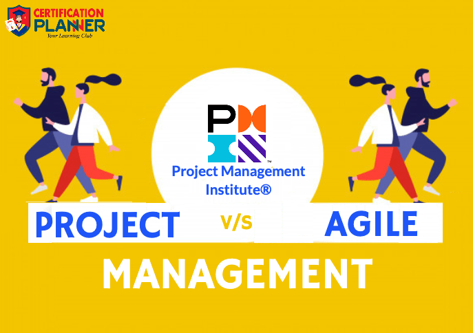 Project V/S Agile Management by PMI